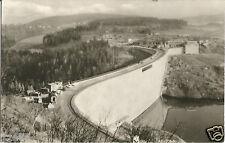 Talsperre Pöhl bei Plauen, Jocketa im Bau, November 1963, DDR-Foto-Ansichtskarte