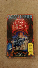 GEORGE R.R. MARTIN - A GAME OF THRONES - 1ST PREVIEW EDITION SIGNED - RARE