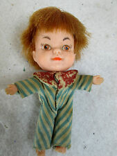 Vintage 1966 My-Toy red hair tiny Terry rubber doll, made in Japan
