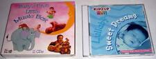 Lot of (2) CD's for Babies: Kidzup Sweet Dreams + Baby's First Music Box (Used)