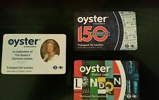 3 Oyster cards limited edition