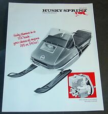 VINTAGE BOLENS SPRINT 295/340  SNOWMOBILE SALES BROCHURE SINGLE PAGE  (792)