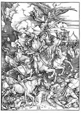 The Four Horsemen of the Apocalypse by Albrecht Dürer Print