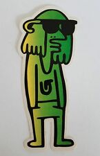 *** Burton  - Snowboard Sticker - Green Man 4x10cm ***