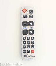 Gmatrix Best Big Button Universal Remote Control Vizio Panasonic Sharp A-TV2