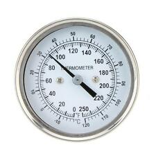 Home Stainless Steel Temperature Tester Oven Thermometer Gauge Food Meat Dial