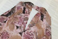 A COMMON THREAD Multi Colored Halter Blouse Size S Silk Blend