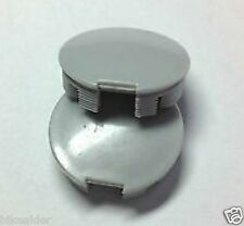 PAIR CRANK ARM DUST CAP COVER GREY PLASTIC CAPS UNIVERSAL COTTERLESS 21mm dia
