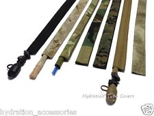Tactical Hydration Back Pack Drink Tube Hose Cover Sleeve ...in Multicam