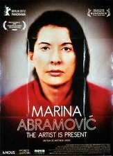 Affiche MARINA ABRAMOVIC THE ARTIST IS PRESENT