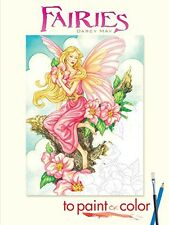 Fairies to Paint or Color (Dover Art Coloring Book), New, Free Shipping