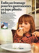 PUBLICITE ADVERTISING 055  1969  KIRI  fromage pour jupe plissée 2