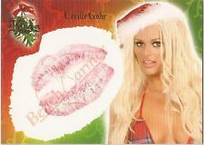 """Benchwarmer 2006 Holiday Series - 8 of 10 """"Cecille Gahr"""" Kiss Card"""