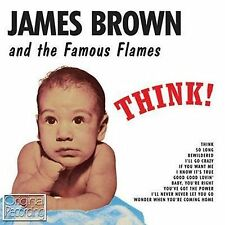 CD JAMES BROWN THINK! BEWILDERED BABY YOU'RE RIGHT SO LONG GOOD GOOD LOVIN' ETC