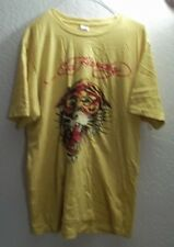 ED HARDY T-SHIRT SIZE XL   BY CHRISTIAN AUDIGIER  TIGER WITH ORIGINAL TAG.