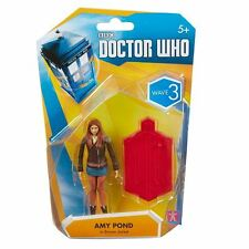 "Doctor Who AMY POND In BROWN JACKET - 3.75"" FIGURE Wave 3 - NEW"