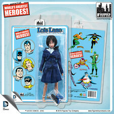Official DC Comics Lois Lane 8 inch Action Figure on Mego-Like Retro Card