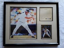 NEW YORK YANKEES DON MATTINGLY PAINTING W/ STATS BY FRED DINGLER NUMBERED