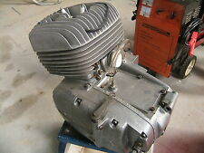 1970 '72 CZ 250 square barrel ENGINE w/ IGNITION Vintage MX MotoCross Very CLEAN