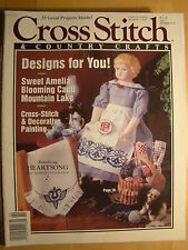Cross Stitch & Country Crafts Magazine February 1991