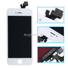 A+ White For iPhone 5 5G LCD Display Screen Touch  Digitizer Glass Assembly MZST