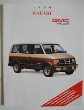 1990 Safari & GMC Truck Brochure