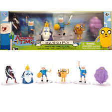 "Adventure Time Deluxe Six 6 Pack 2""  battle finn lumpy jake marceline - cake top"