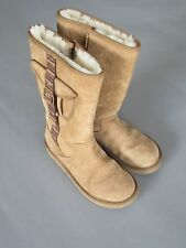 UGG BOOTS SHEARLING RETRO CARGO BOOTS TAN 1895 SIZE USA 8