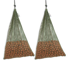 2 x Large 30 x 45cm Air Dry Boilie Sack Bags With 3kg Capacity For Carp Fishing