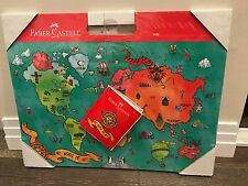 Brand New Faber Castell - My World of Art Portfolio Kids Lrg Expandable Ages 3+