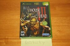 House of the Dead 3 III (Xbox) NEW SEALED BLACK LABEL, Y-FOLD MINT W/UPC, RARE!