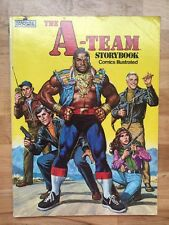 The A-Team Storybook Comics Illustrated 1983 Marvel Books Mr. T