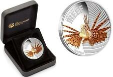 Australia 2009 50ct Australian Sea Life - Lionfish 1/2 Oz Silver Proof Coin