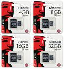 Kingston 8GB 16GB 32GB 64GB Micro SD SDHC SDXC Class10 Memory Card TF Lot