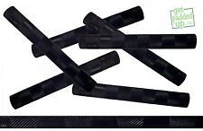 getpaddedup Chevron Cricket Bat Grip : Single Colour : Black