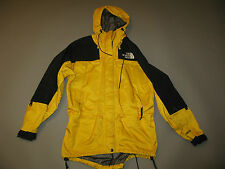 VTG 90S NORTH FACE YELLOW BLACK GORE-TEX MOUNTAIN GUIDE LIGHT JACKET W'S L M's M