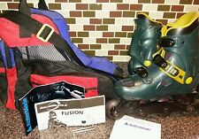 Rollerblade Fusion In Line Skates w/ Bag 7.5 Mens 8.5 Womans