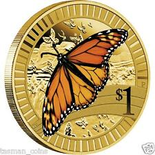 Australia - 2012 - Young Collectors Animal Athletes MONARCH BUTTERFLY $1 Coin