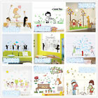 Children boy girl play Home Room Decor Removable Wall Stickers Decal Decoration