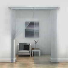 JAVA STRING VOILE CURTAIN PANEL - FOR WINDOWS & DOORWAYS