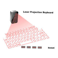 Mini Portable Laser Virtual Projection Keyboard And Mouse To For Tablet Pc SN