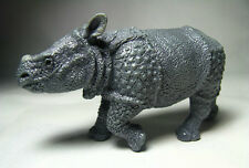 2013 NEW Papo  Animal Toy / Figure Indian Rhinoceros Calf