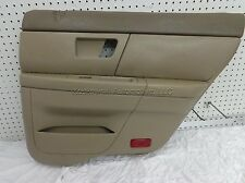 FORD TAURUS Door Panel Right Rear Interior Trim Passenger Side Parchment 03 OEM