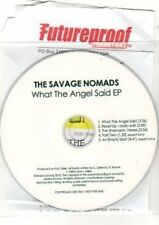 (BS808) The Savage Nomads, What The Angel Said EP - DJ CD