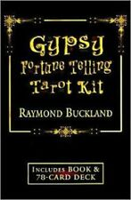 Gypsy Fortune Telling Tarot Kit Raymond Buckland NEW Rare Book & 78 Cards Wicca