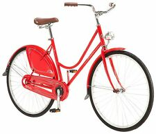 Schwinn Women 700c Yorkshire Skirt Bike, Cruiser, Red