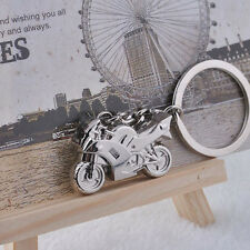 Special 3D Simulation Model Motorcycle Motorbike Keychain Car Purse Bag Gadget