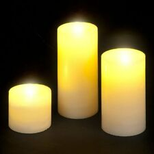 Set up 3 LED Candle Lights in Presentation Gift Box Ideal Gift Battery Operated