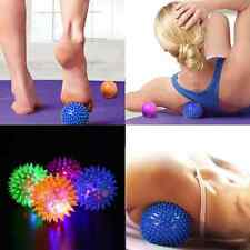 Foot Body Spiky Massage Ball Point Sports Hand Foot Pain Relief Sound 6.5cm