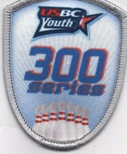 USBC 300 SERIES YOUTH BOWLING PATCH: FREE SHIPPING